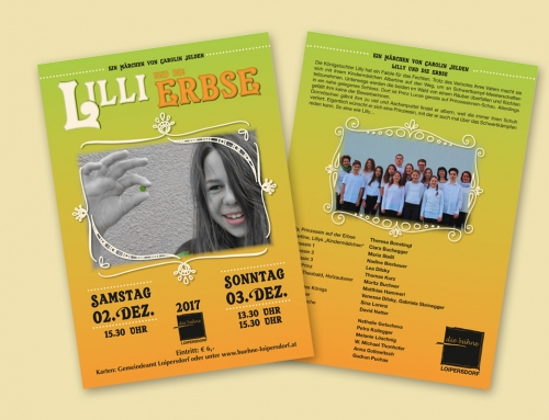 Bühne Loipersdorf – Flyer, Plakate, Eintrittskarten